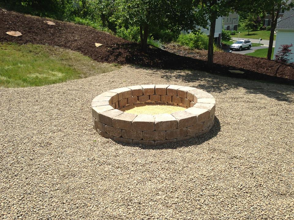 sandbox and future firepit